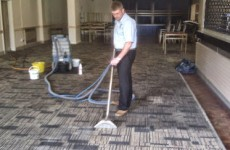 Carpet Cleaning in a Pub