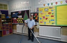 carpet Cleaning in a School
