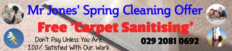 Mr Jones' Professional Carpet Cleaning Cardiff Company